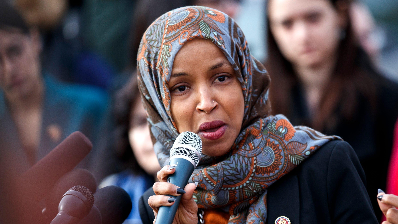 Donald Trump blasts Rep. Ilhan Omar over 'anti-Semitic' tweetIlhan Omar Twitter