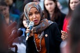 "Democratic House leaders denounced fellow Democrat Rep. Ilhan Omar's tweet, saying, ""Anti-Semitism must be called out, confronted and condemned whenever it is encountered, without exception."""