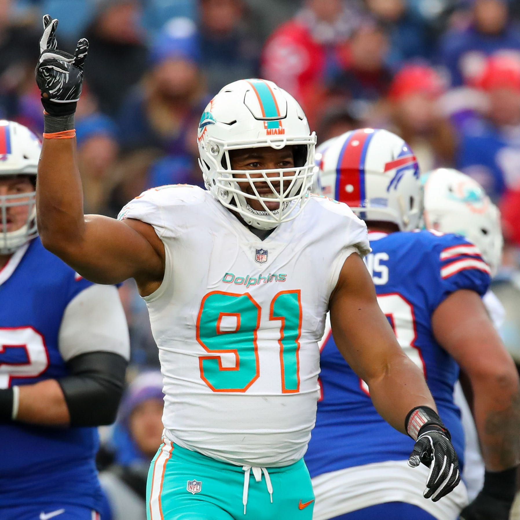 Titans reportedly signing former Dolphins defensive lineman Cameron Wake