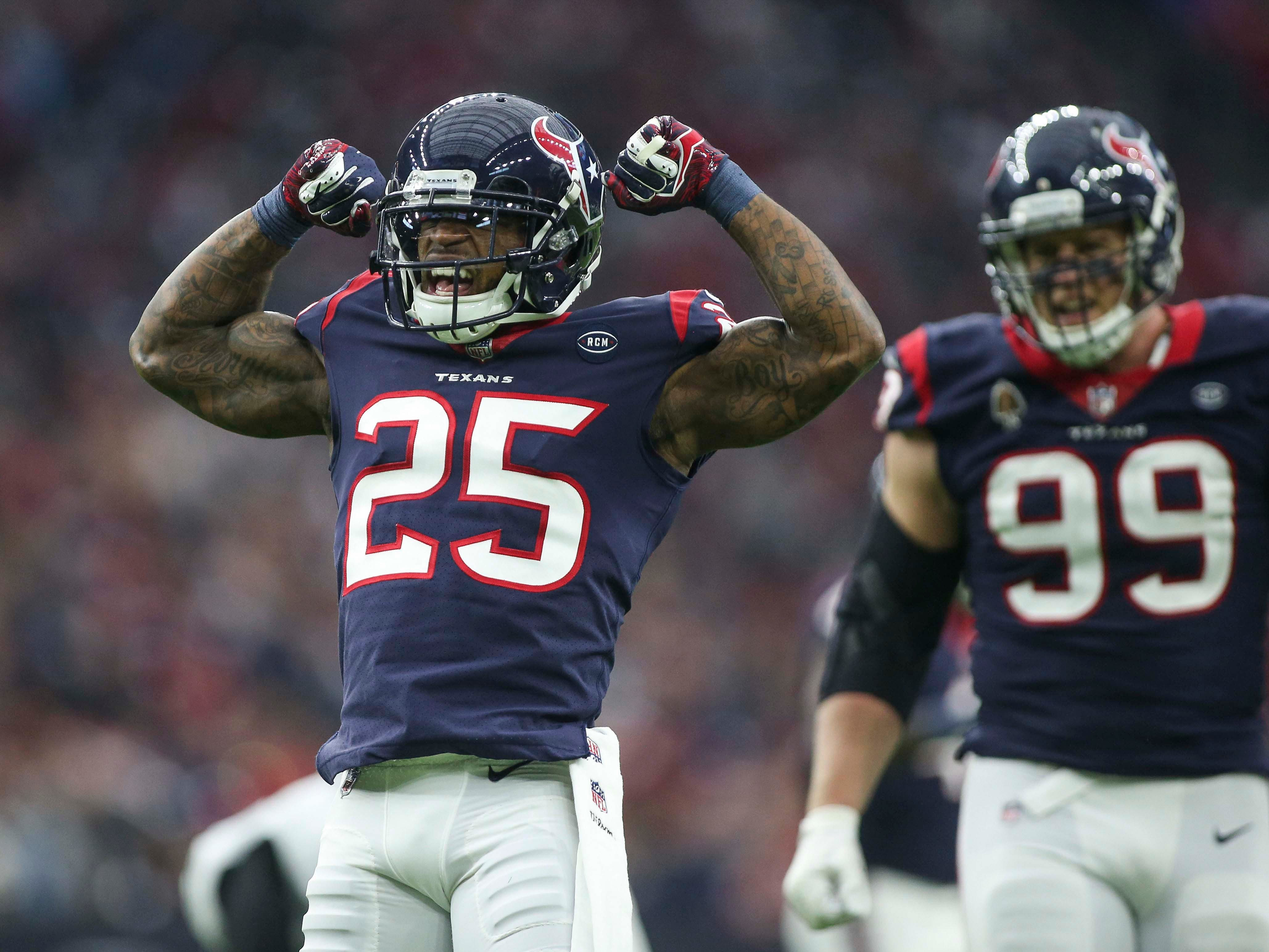 NR: Kareem Jackson, CB, Texans: Agreed to deal with Broncos