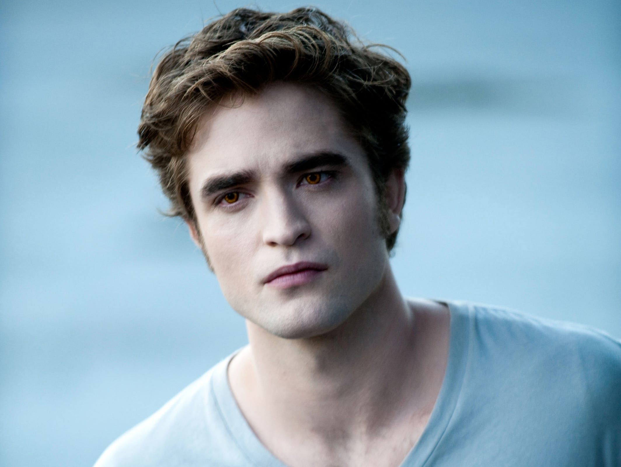"""Pattinson, who was only in the fourth """"Harry Potter"""" movie, moved on to another major movie franchise, starring in the """"Twilight"""" franchise as vampire Edward Cullen."""