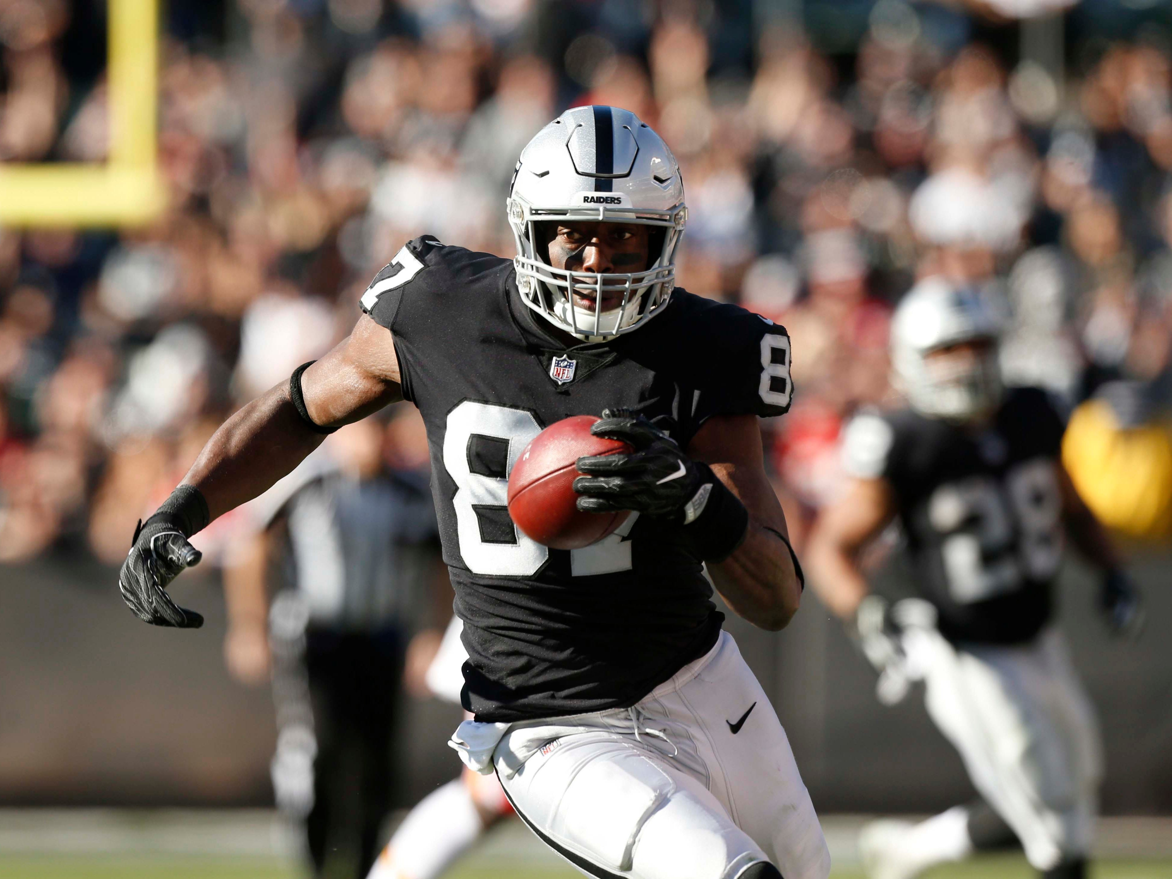 NR: Jared Cook, TE, Raiders