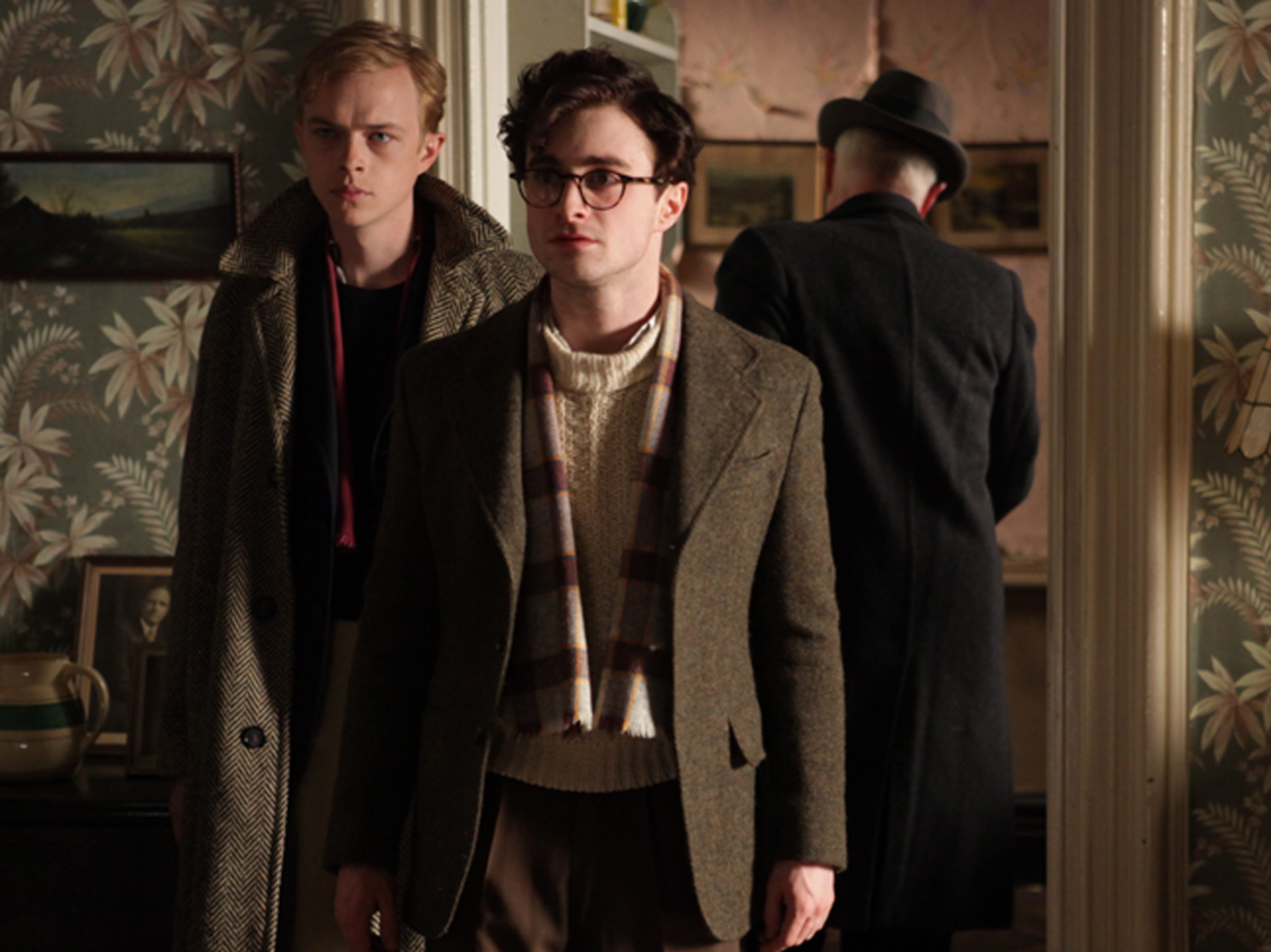 """Radcliffe has taken on a series of unique roles on stage and screen including as a corpse in """"Swiss Army Man"""" and Allen Ginsberg (pictured, with Dane DeHaan) in the film """"Kill Your Darlings."""""""