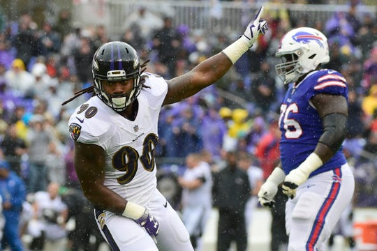 21. Za'Darius Smith, OLB, Ravens: Agreed to deal with Packers