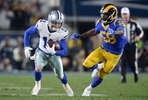 NR: Cole Beasley, WR, Cowboys