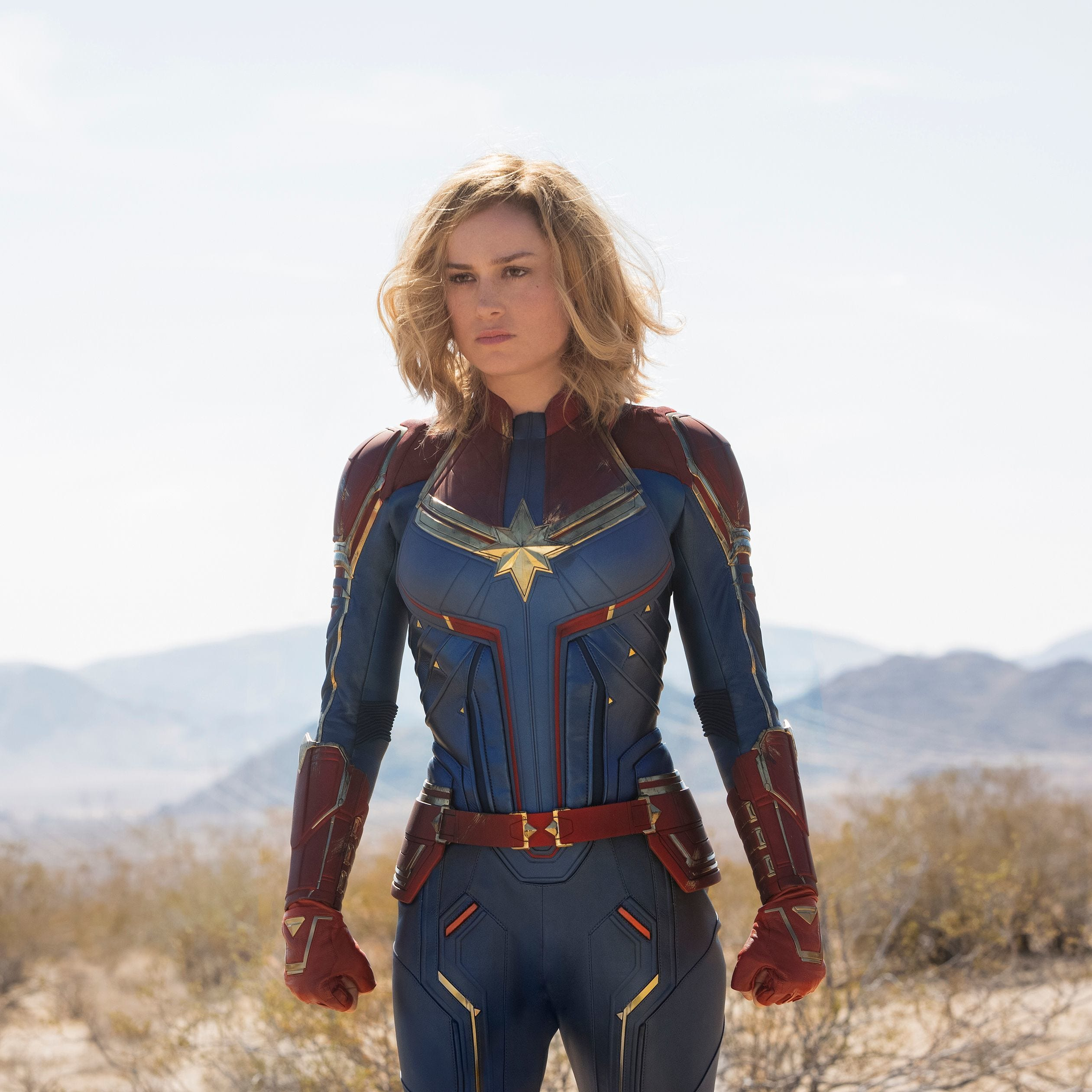 'Captain Marvel' introduces a powerful female lead. Young girls should see that.