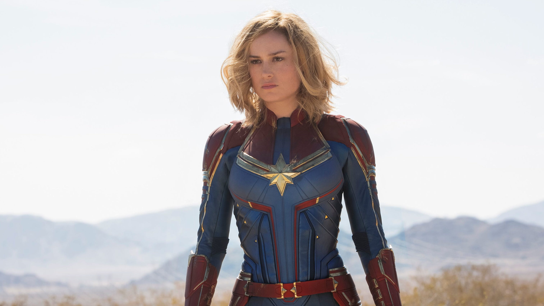 "Brie Larson stars as Carol Danvers in ""Captain Marvel."""
