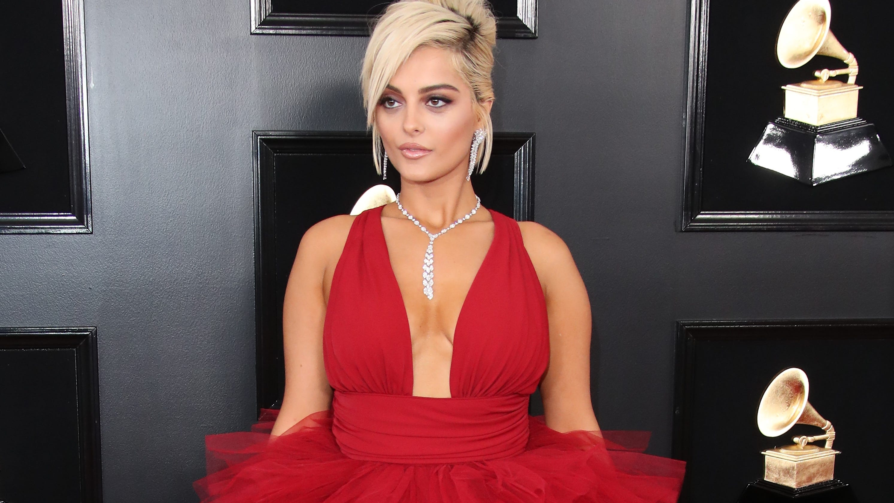 Image result for bebe rexha grammys