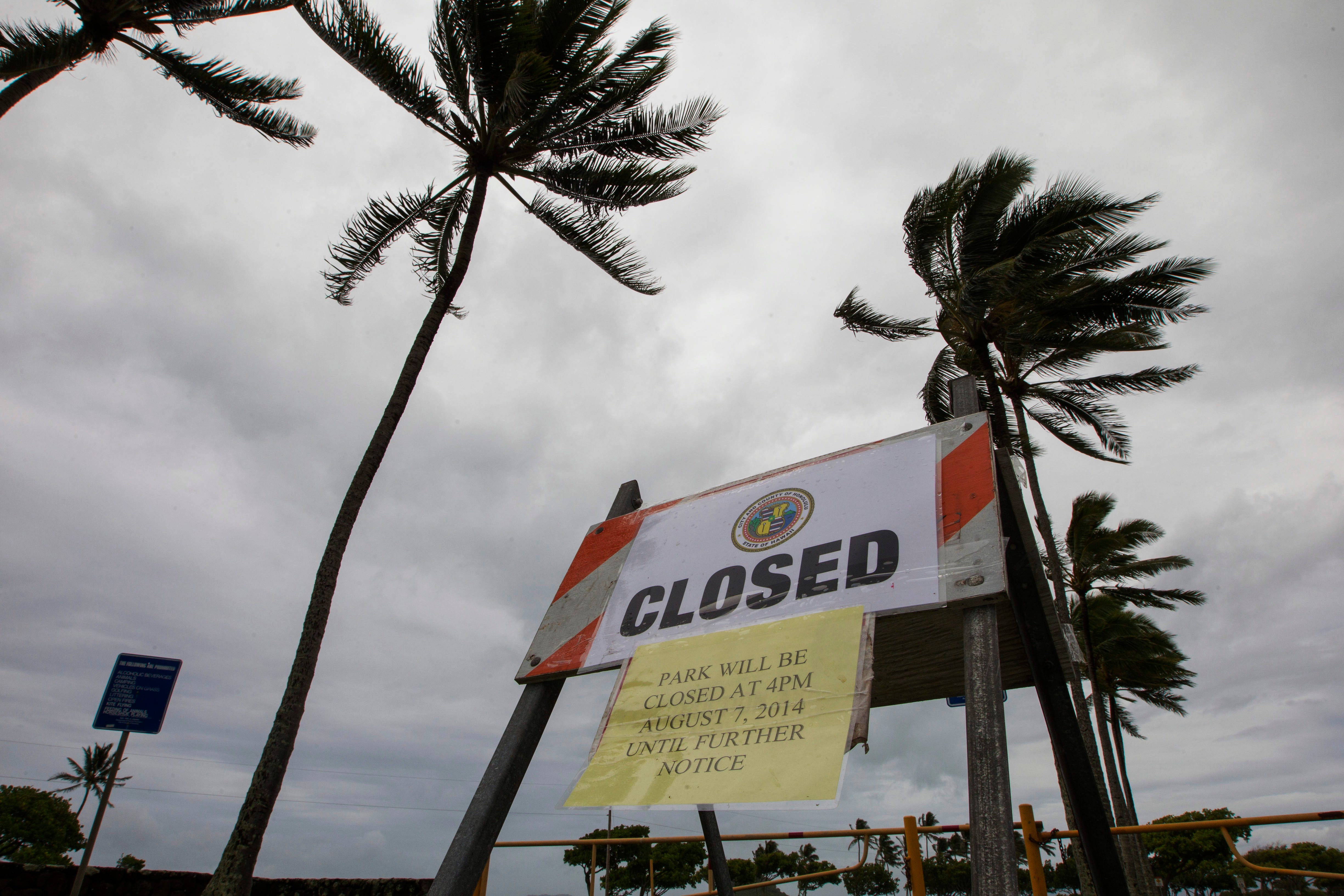 Potent storm slams Hawaii with 191-mph winds, 60-foot waves and rare snow on Maui