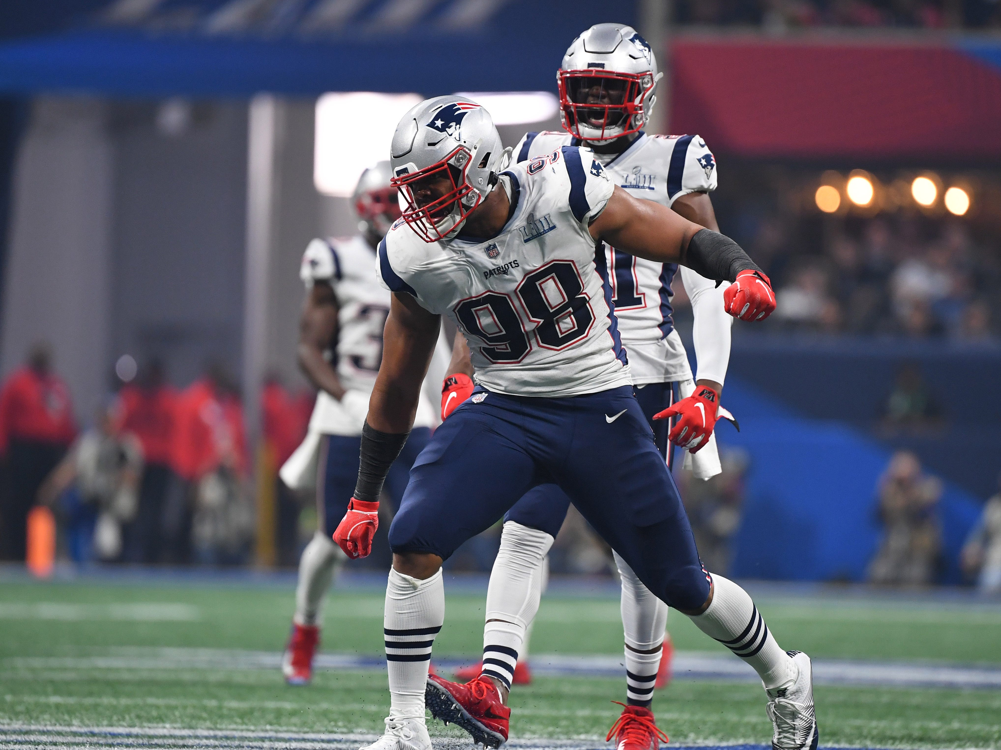 2. Trey Flowers, DE, Patriots: Agreed to deal with Lions