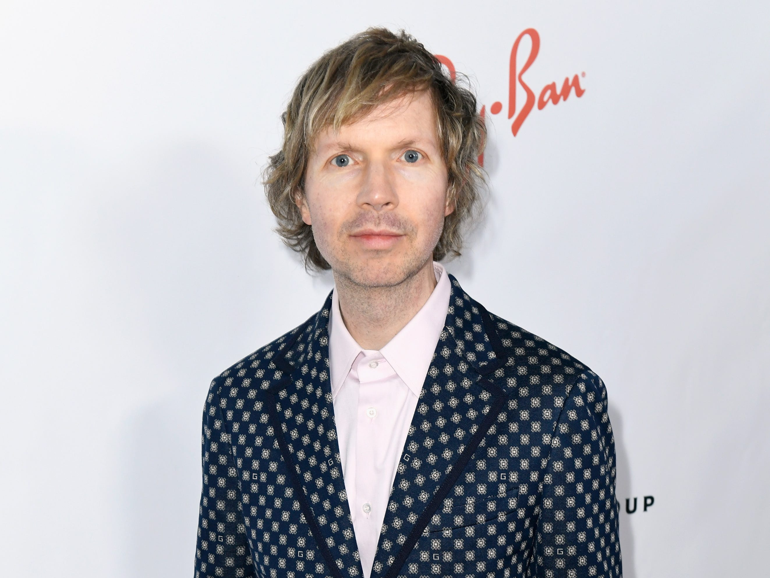 LOS ANGELES, CA - FEBRUARY 10: Beck  attends Universal Music Group's 2019 After Party Presented by Citi Celebrates The 61st Annual Grammy Awards on February 9, 2019 in Los Angeles, California.  (Photo by Timothy Norris/Getty Images for for Universal Music Group ) ORG XMIT: 775289866 ORIG FILE ID: 1097767218