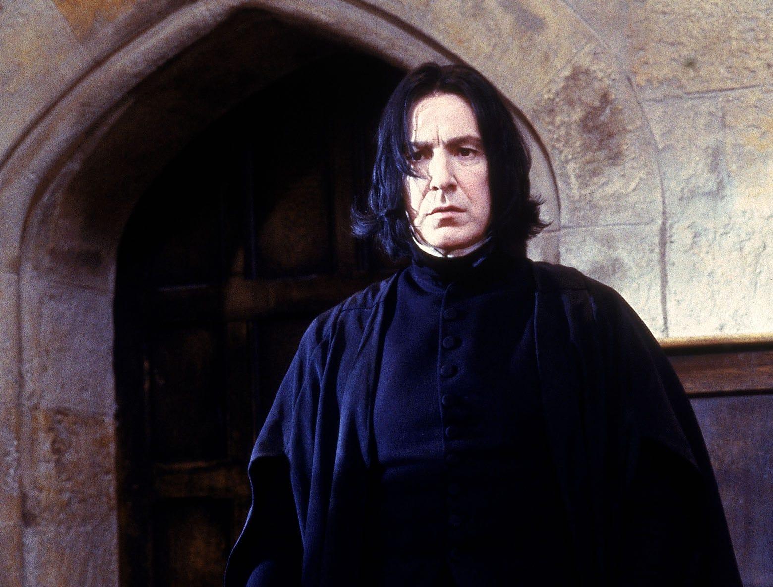 Alan Rickman as Professor Snape