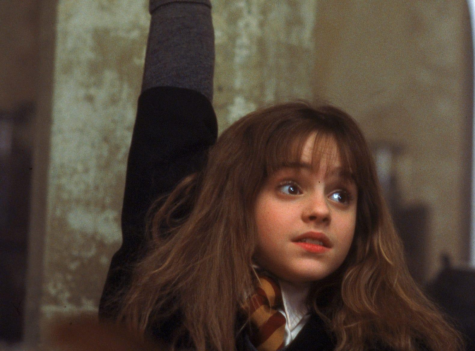 Emma Watson as Hermione Grainger