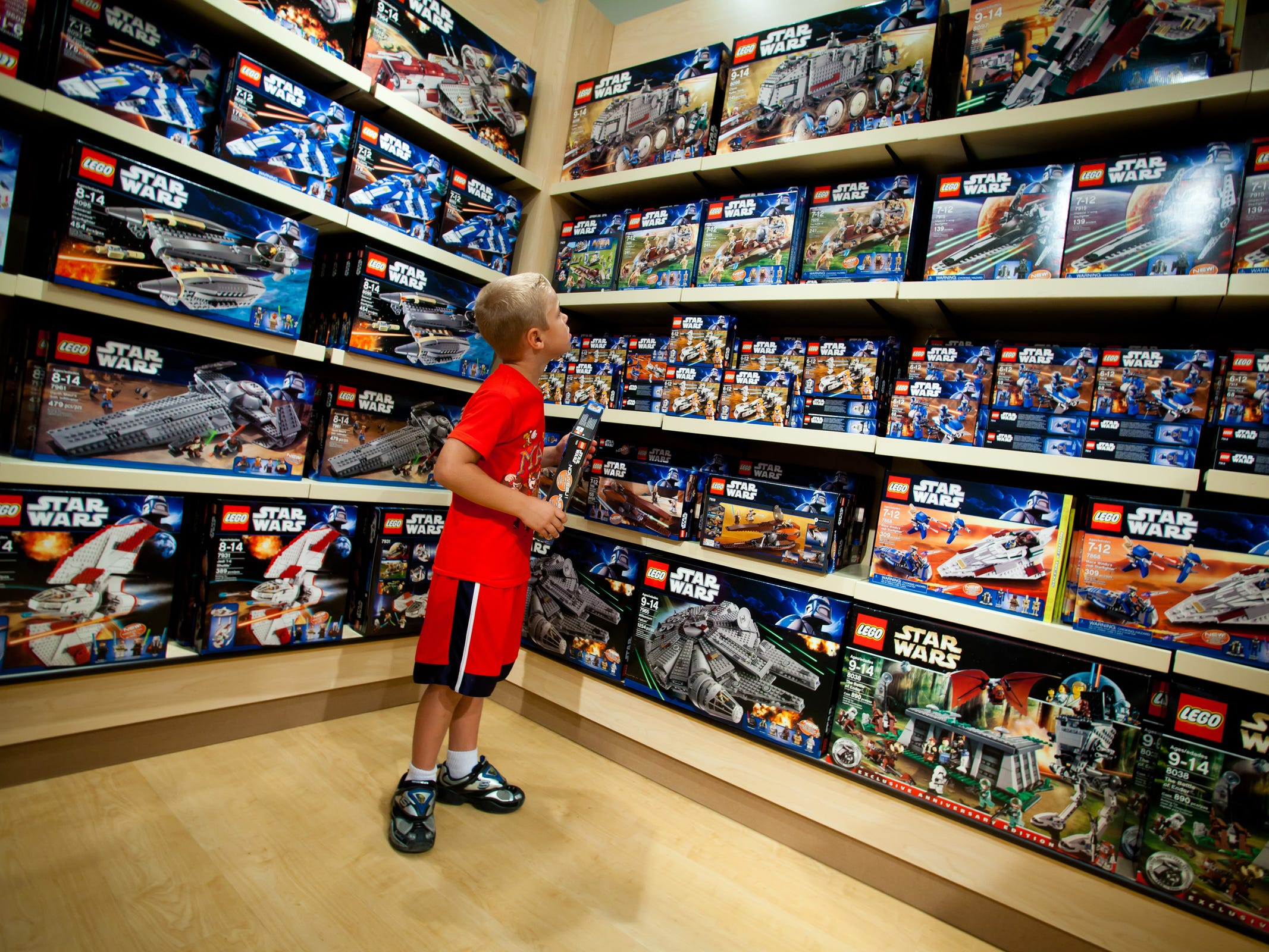 Visitors to Legoland Florida looking to score even the most obscure Lego sets will not be disappointed. The park's ubiquitous retail shops stock nearly every conceivable collection.
