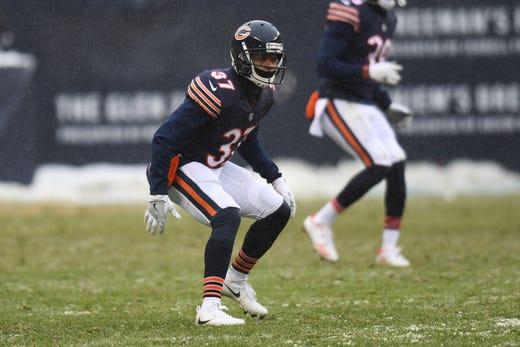 NR: Bryce Callahan, CB, Bears