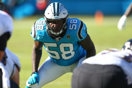 NR: Thomas Davis, LB, Panthers