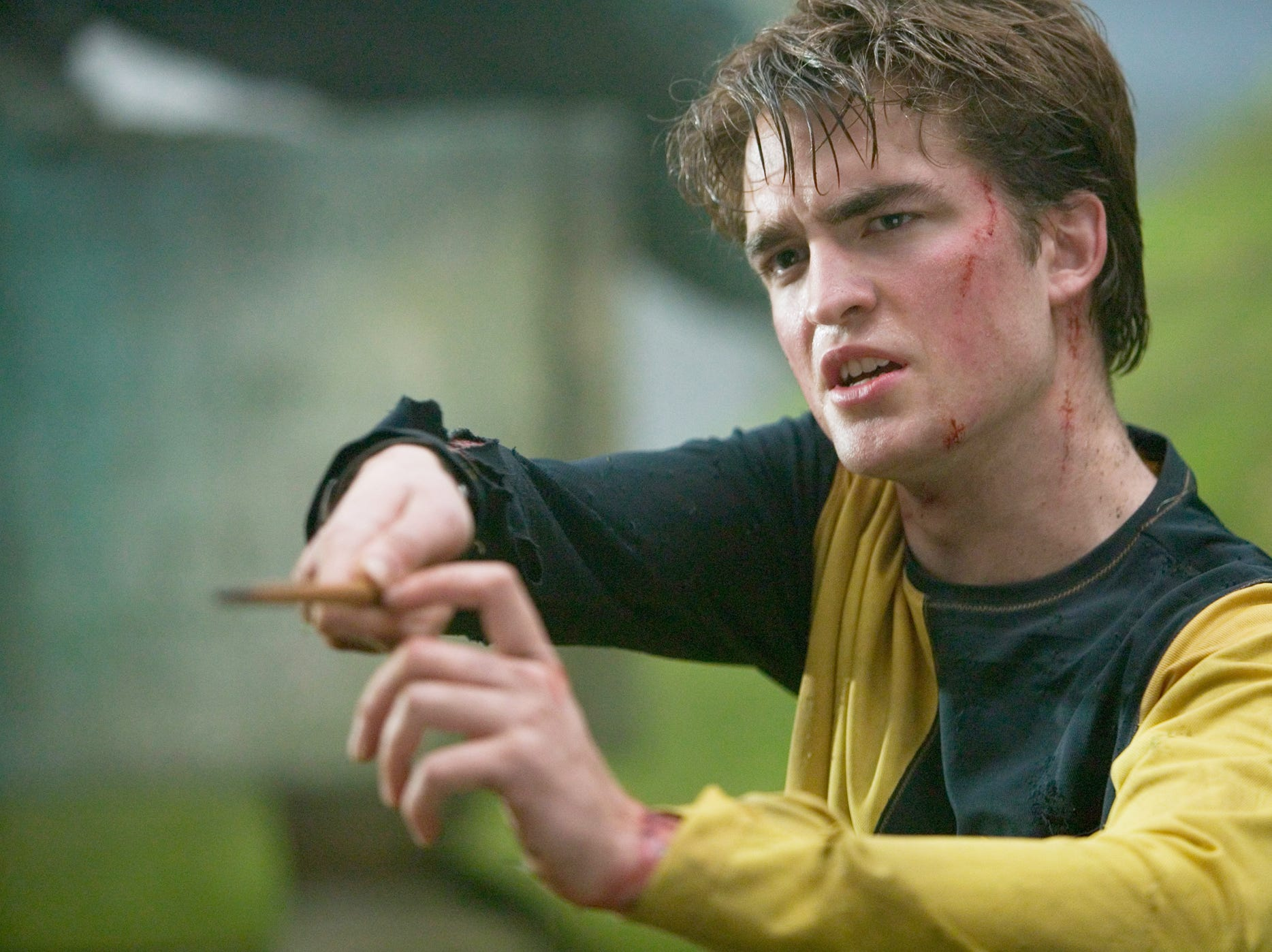 Robert Pattinson as Cedric Diggory