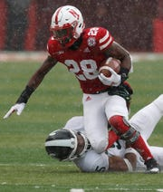 Freshman Maurice Washington rushed for 455 yards and three touchdowns for the University of Nebraska in 2018.