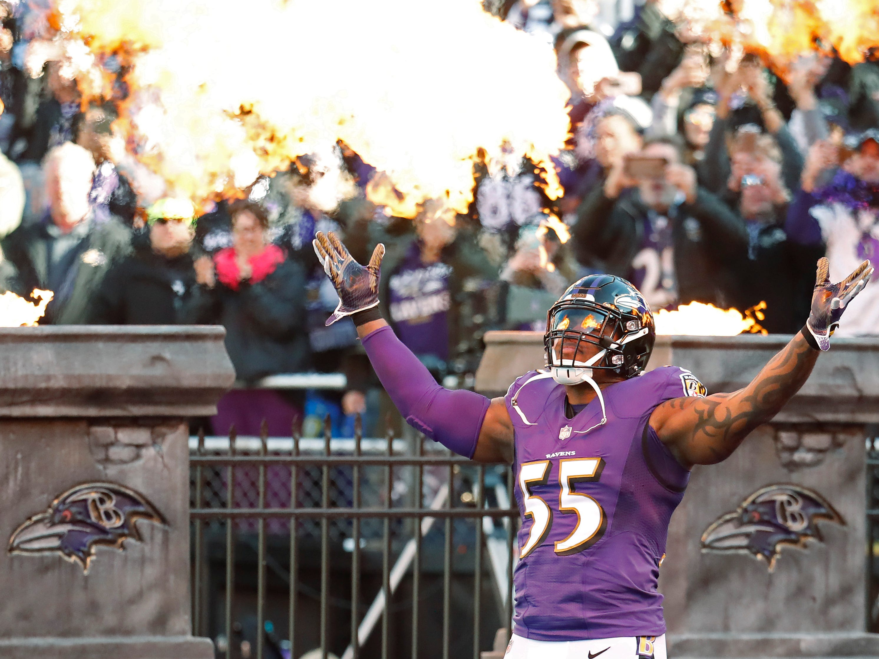 NR: Terrell Suggs, OLB, Ravens: Agreed to deal with Cardinals