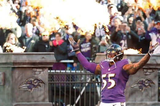 NR: Terrell Suggs, OLB, Ravens