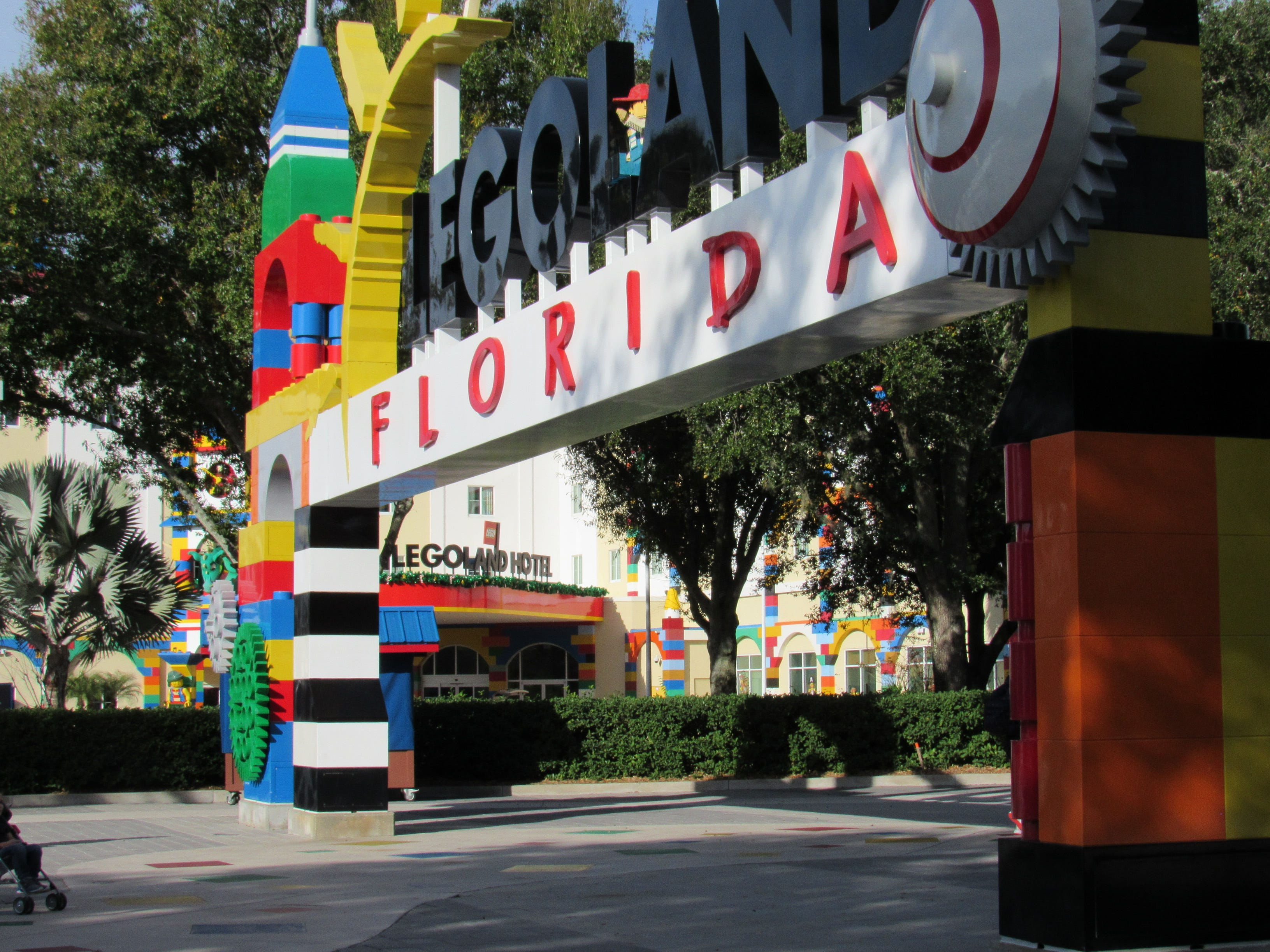 The Legoland Hotel at Legoland Florida is just steps away from the park entrance, making it a no-brainer lodging choice.