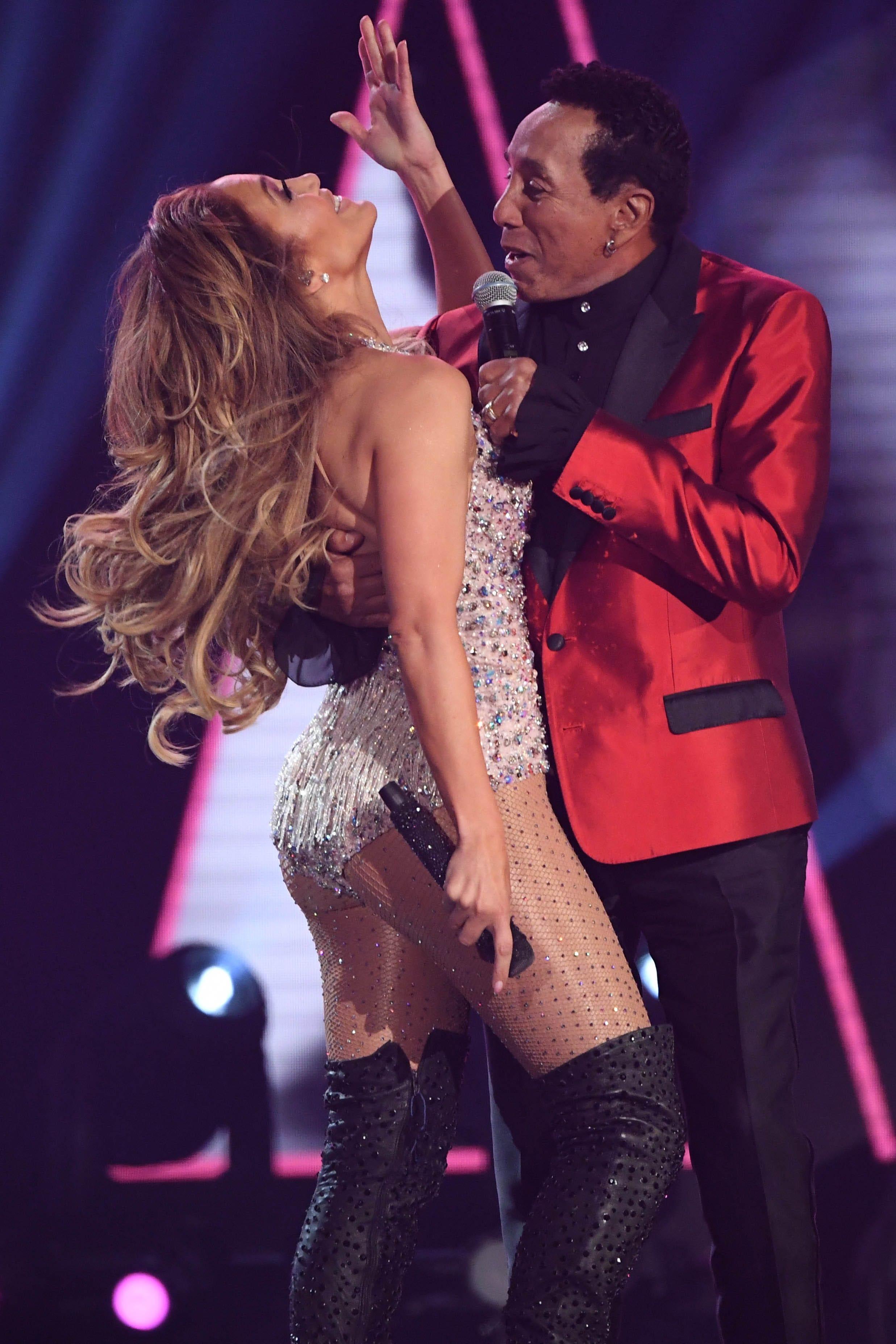 Smokey Robinson defends Jennifer Lopez's Grammys Motown tribute