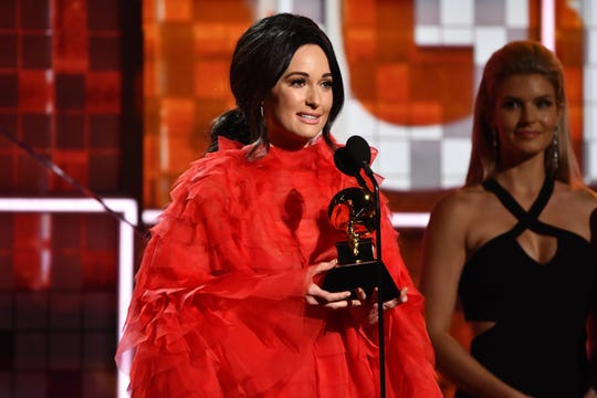 Kacey Musgraves was the night's big winner, taking home four Grammys, including album of the year and best country album.