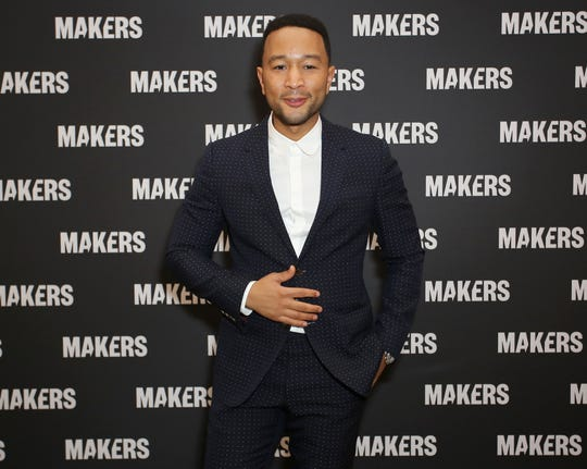 John Legend wasn't at the Grammys and Chrissy Teigen says it's because he's now an EGOT