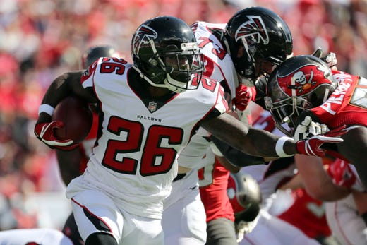NR: Tevin Coleman, RB, Falcons