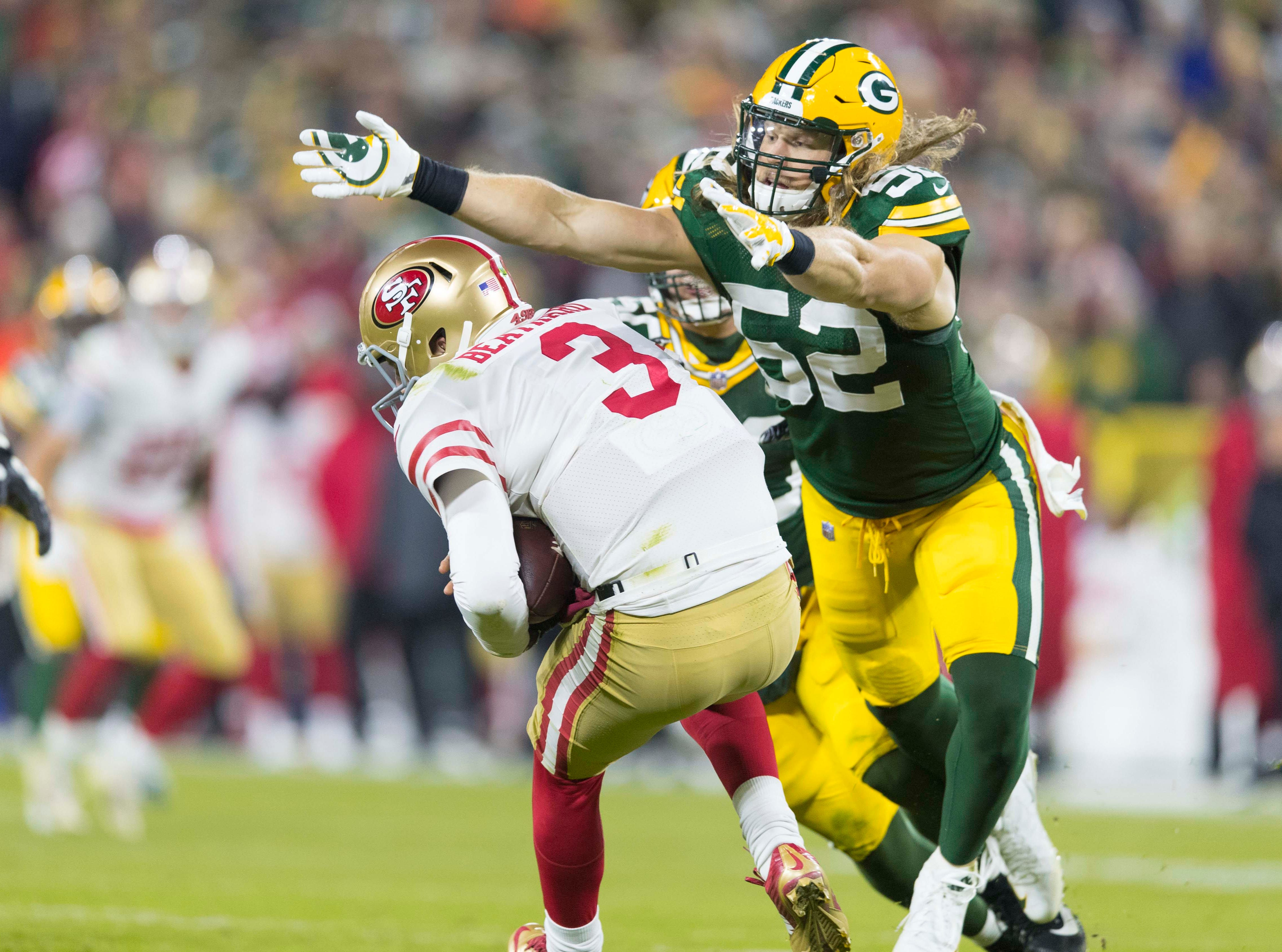 NR: Clay Matthews, OLB, Packers: Agreed to deal with Rams