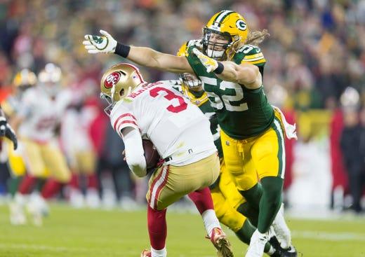 NR: Clay Matthews, OLB, Packers