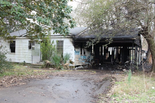 One man died and three people were injured in a fire at this Culpepper Road house early Sunday morning. It was the second fatal fire in Alexandria within four days.