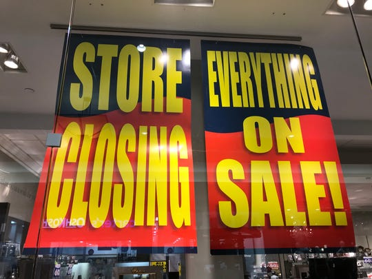 Another chain, Things Remembered, is closing hundreds of stores in bankruptcy.