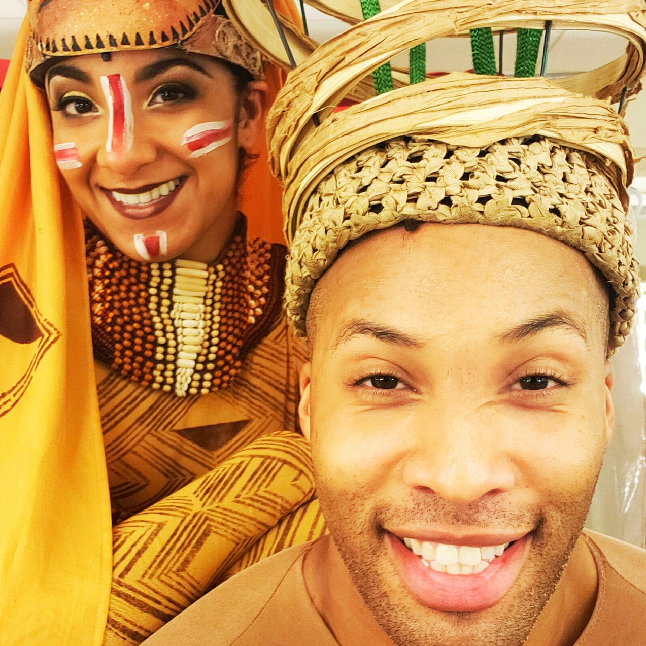 Simba and Nala are not the only love story on this 'Lion King' tour