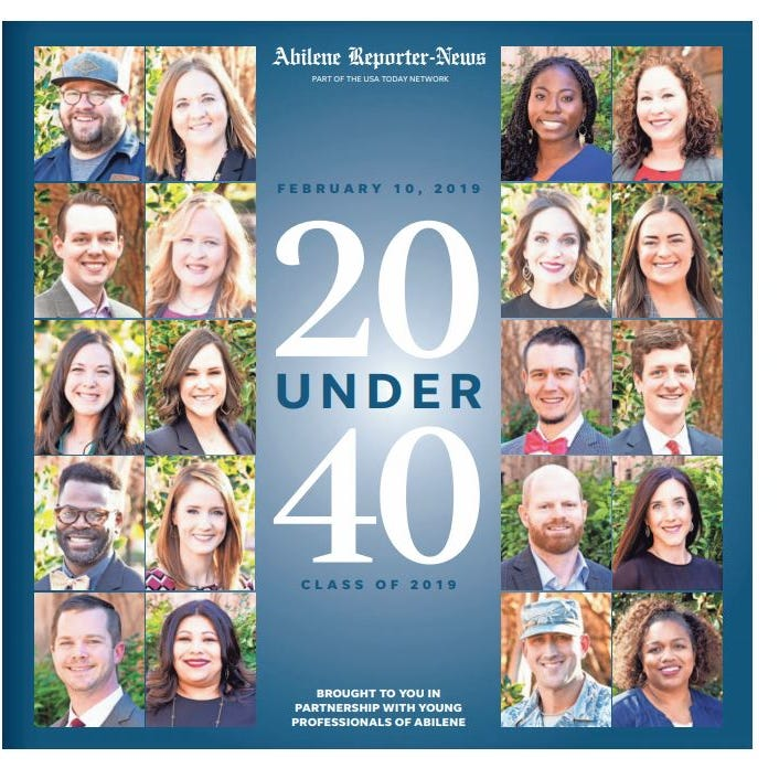 Meet the 20 Under 40 winners for 2019