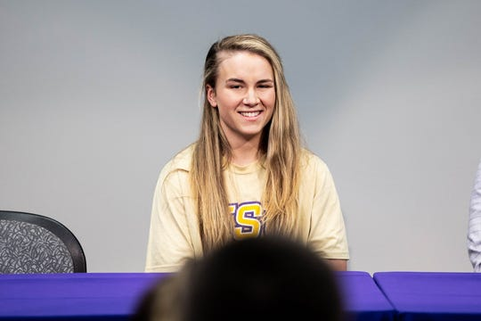 HSU women's soccer standout Kenne Kessler signed a professional contract to play with Spanish soccer club Villarreal CF on Monday.