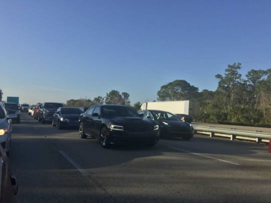 A crash on I-95 near Viera is causing delays for northbound traffic.
