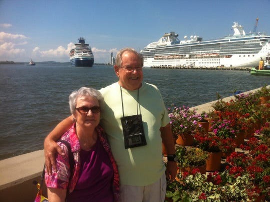 Peggy Gilleland died in December after a 18-month long battle with cancer. This photo of her and husband Don was taken in Cartagena, Colombia.