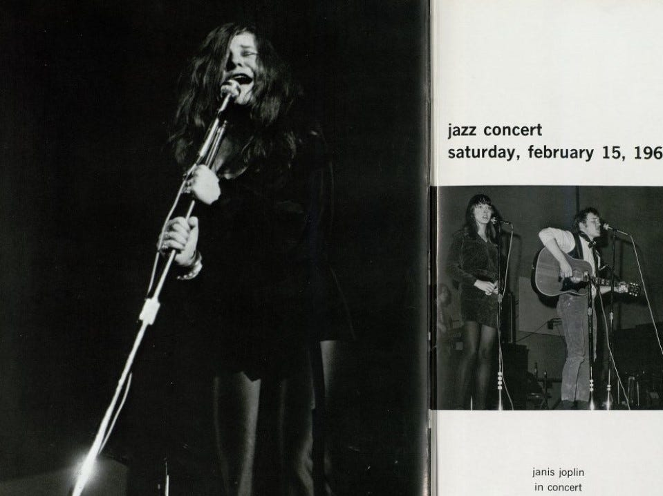 Janis Joplin performed on Feb. 15, 1969, during the Winter Festival, which included several nights of Kake Walking.