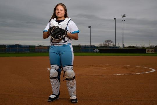 Carroll softball player Samantha Gaona