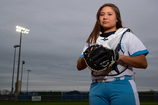 Carroll softball player Samantha Gaona