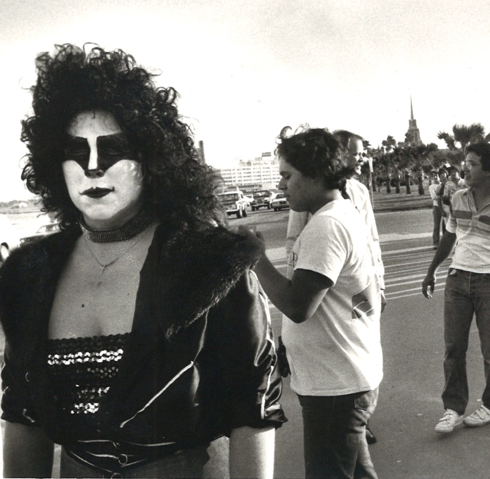 #TBT: KISS concerts at Corpus Christi's Memorial Coliseum brought crowds — and protesters