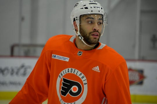 Justin Bailey was recalled by the Flyers Sunday. He spent his first three and a half seasons with his hometown Buffalo Sabres.