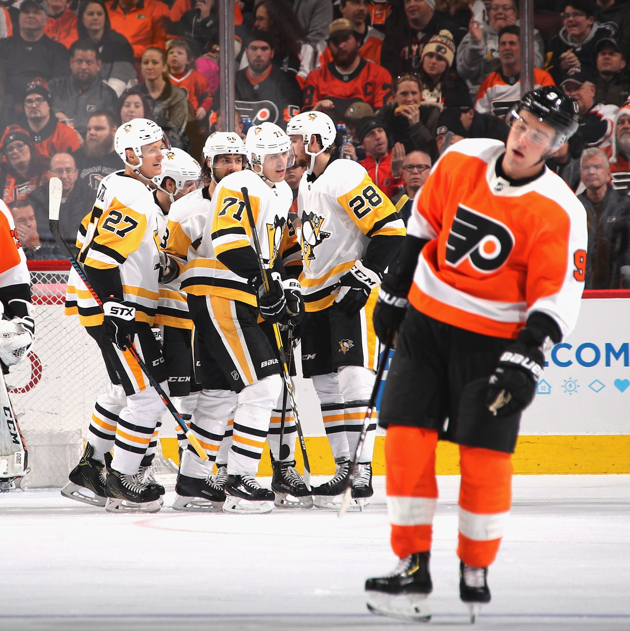 Flyers 5 takeaways: point streak ends in 'a huge game to lose' against Penguins