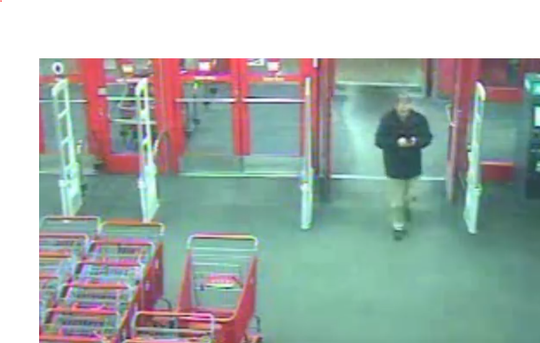Voorhees police are investigating a report of a man recording video inside a Target store.