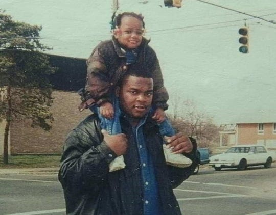 Nadeige always wanted to hang around with her dad, Damon Collier.