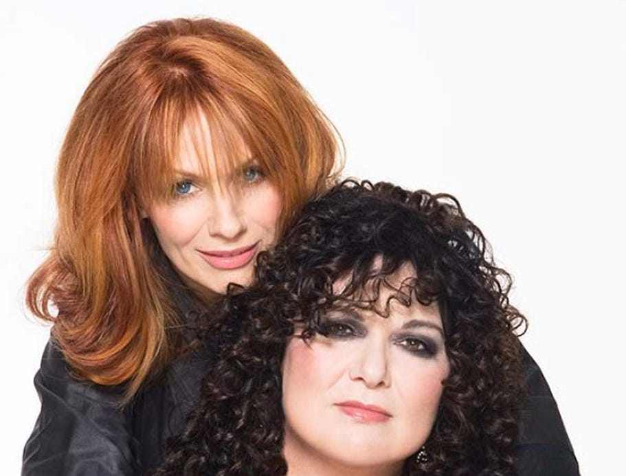 Amber McDonald Nancy (left) and Ann Wilson of Heart. Heart. Nancy (left) and Ann Wilson.