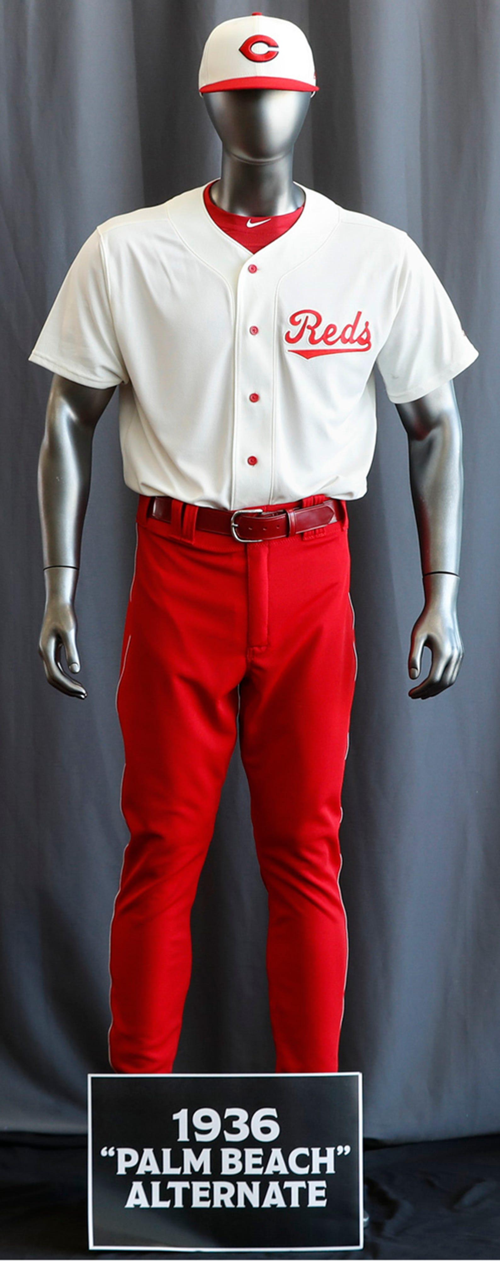 Photos: Check out the Cincinnati Reds retro uniforms
