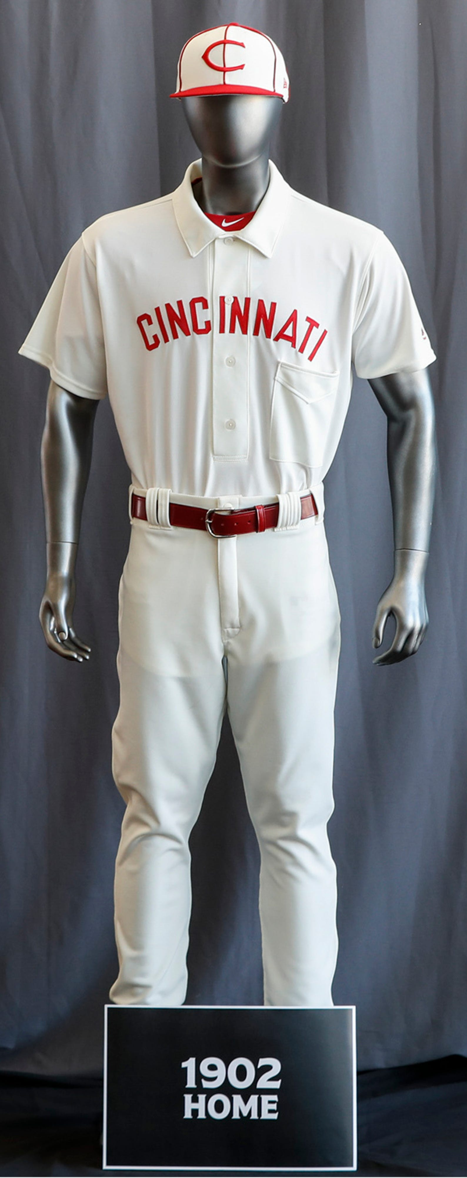 the latest 0cdb1 1c751 Photos: Check out the Cincinnati Reds retro uniforms ...