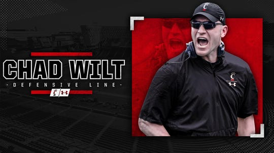 UC has hired Chad Wilt as defensive line coach